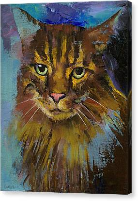 Luna Canvas Print by Michael Creese