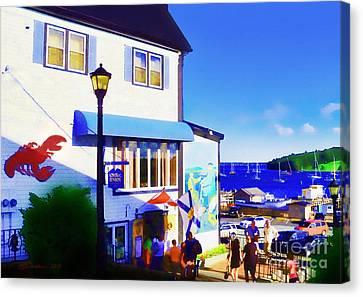 Lunenburg Vista View Canvas Print by Patricia L Davidson