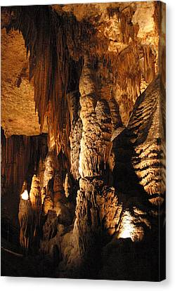 Luray Caverns - 1212120 Canvas Print by DC Photographer