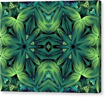 Luscious Greenery Canvas Print by Georgiana Romanovna