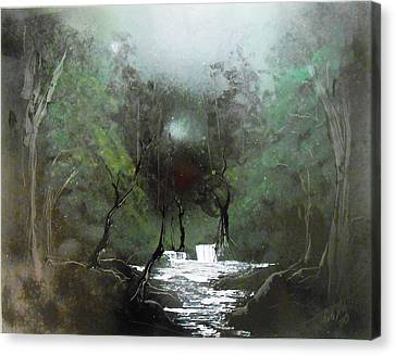 Lush Forest Canvas Print by Aaron Beeston