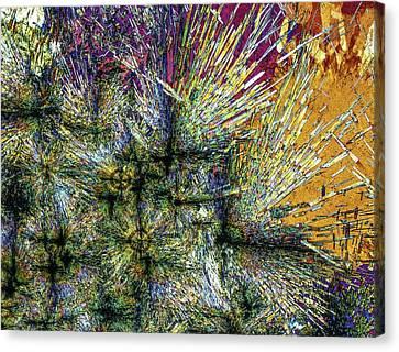 Luxulyanite Canvas Print by Alfred Pasieka