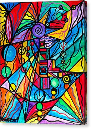 Lyra Canvas Print by Teal Eye  Print Store