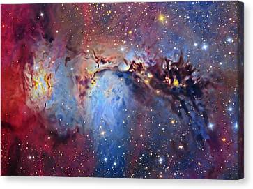 M78 Reflection Nebula Canvas Print by Tony & Daphne Hallas