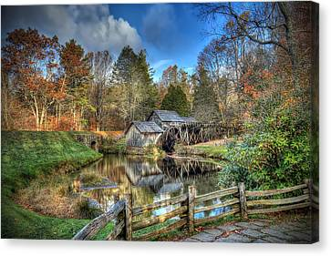 Mabry Mill Canvas Print by Jaki Miller