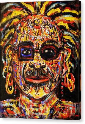Macho Canvas Print by Natalie Holland