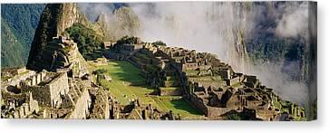 Machu Picchu, Peru Canvas Print by Panoramic Images