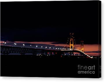 Mackinac Island Bridge Canvas Print by Cyril Furlan