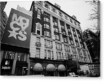 Macys Department Store New York City Canvas Print by Joe Fox