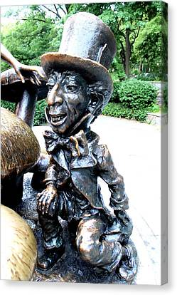 Mad Hatter Canvas Print by Debra Forand