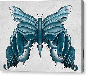 Madam Butterfly Canvas Print by Brenda Bryant