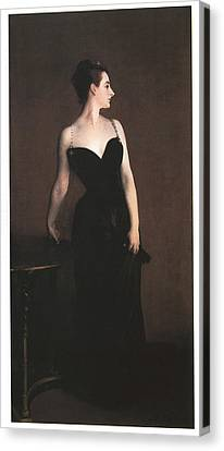 Madame X  Canvas Print by John Singer Sargent