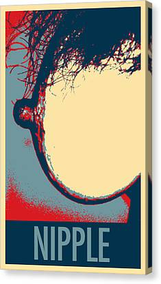 Made In The U S A In Hope Canvas Print by Rob Hans