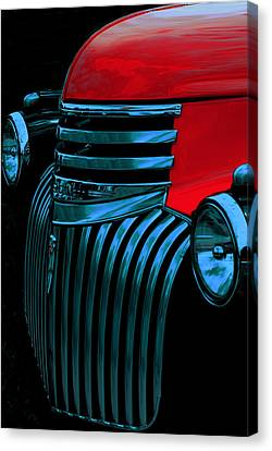 Made Of Steel Canvas Print by Jack Zulli