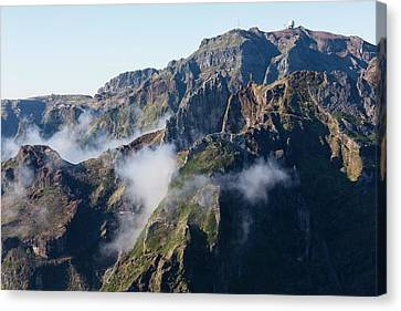 Madeira Central Highland Canvas Print by Dr Juerg Alean