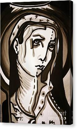Madonna Canvas Print by Sandoval Maciel