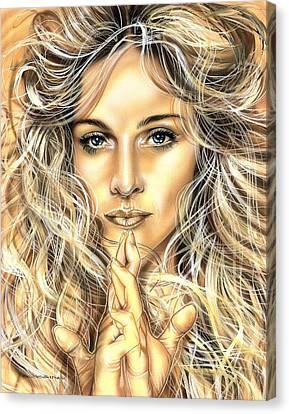 Madonna Canvas Print by Tim  Scoggins