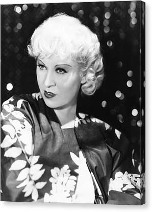 Mae West, Ca. 1933 Canvas Print by Everett