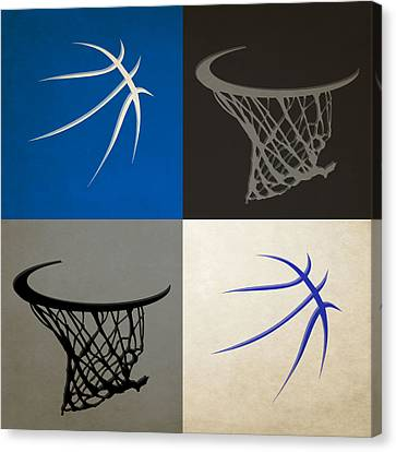 Magic Ball And Hoops Canvas Print by Joe Hamilton