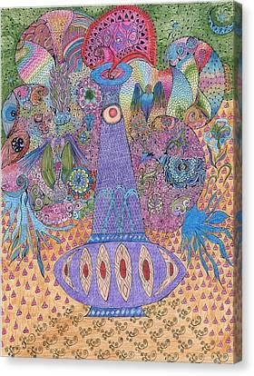 Magic Bottle Canvas Print by I M Rainbow