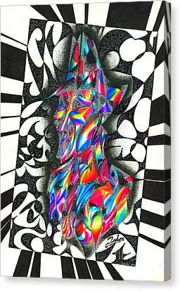 Wizard Canvas Print by Joker Gallery