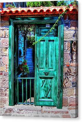 Magic Door Canvas Print by Andreas Thust