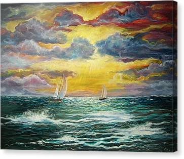 Magic Canvas Print by Emery Franklin