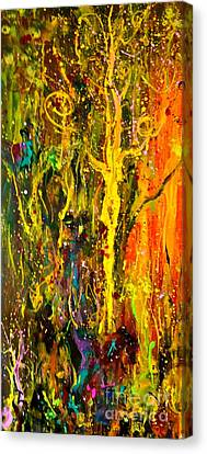 Magic Forest 2 Canvas Print by Michelle Dommer