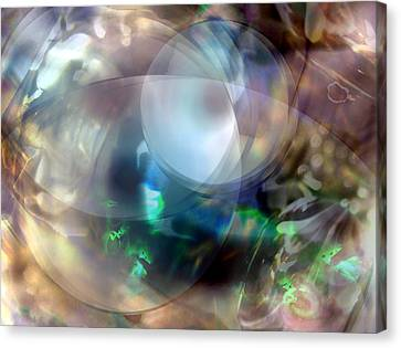 Magic Glass II Canvas Print by Judy Paleologos