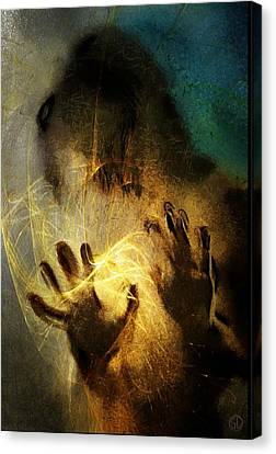 Magic Hands Canvas Print by Gun Legler