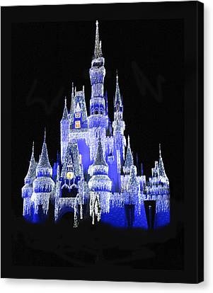 Magic Kingdom Canvas Print by Art Spectrum