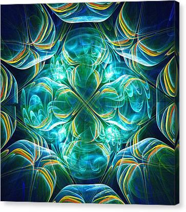 Magic Mark Canvas Print by Anastasiya Malakhova