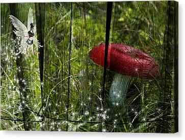 Magic Mushroom. Canvas Print by Nathan Wright