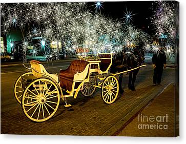 Magic Night Canvas Print by Jon Burch Photography