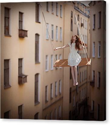 Magic Swings Canvas Print by Anka Zhuravleva