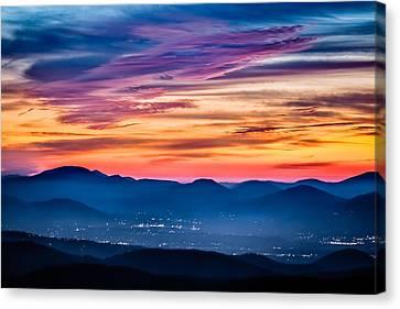 Magical Dawn Canvas Print by Rob Travis