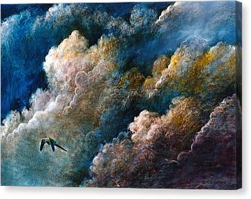 Magical Journey Canvas Print by Frank Robert Dixon