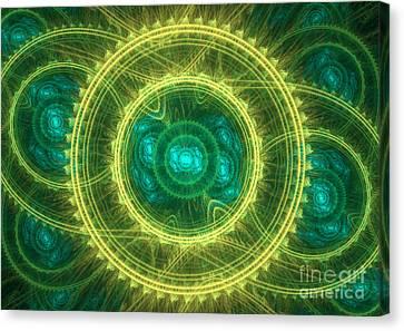 Magical Seal Canvas Print by Martin Capek