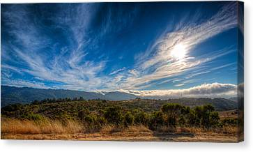 Magical Sky Canvas Print by Mike Lee
