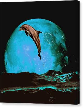 Magician Of Seas Canvas Print by Richard Tito