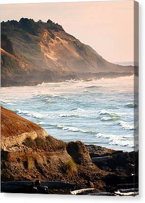 Magnificent Coast  Canvas Print by Marty Koch