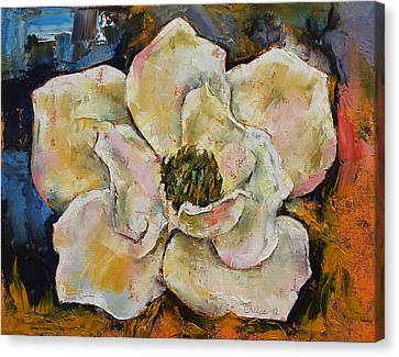 Magnolia Canvas Print by Michael Creese