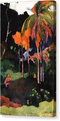Mahana Ma'a Canvas Print by Paul Gauguin