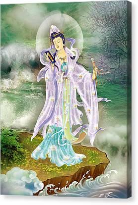 Malang Guanyin Canvas Print by Lanjee Chee