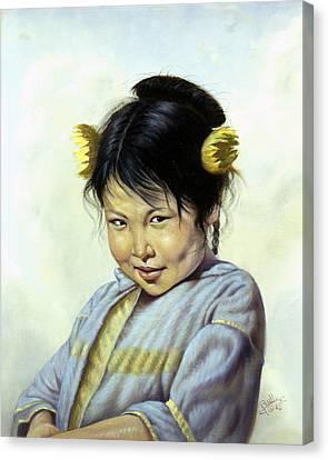 Mai Li Canvas Print by Gregory Perillo