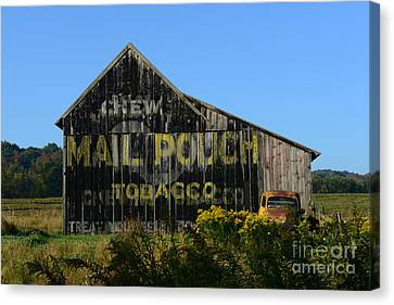 Mail Pouch Barn Canvas Print by Paul Ward