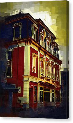 Main Street Usa Canvas Print by Kirt Tisdale