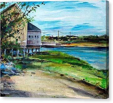 Maine Chowder House Canvas Print by Scott Nelson