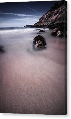 Maine Low Tide Canvas Print by Chad Tracy