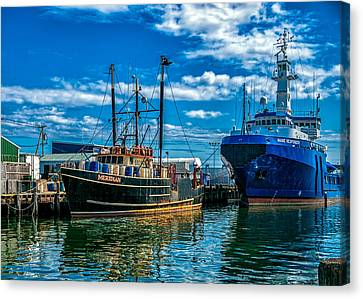 Maine Responder And Meridian Portland Me Canvas Print by Bob Orsillo